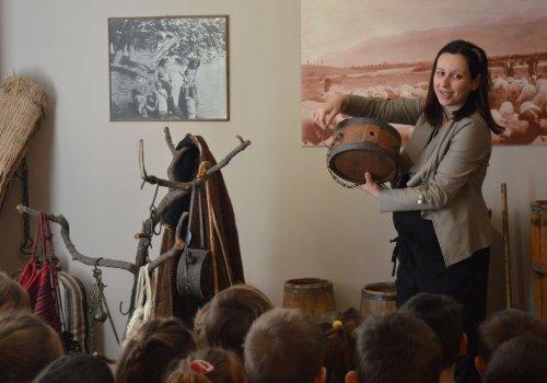 ΕΚΠΑΙΔΕΥΤΙΚΗ ΕΠΙΣΚΕΨΗ    Λαογραφικό Μουσείο Λαμίας
